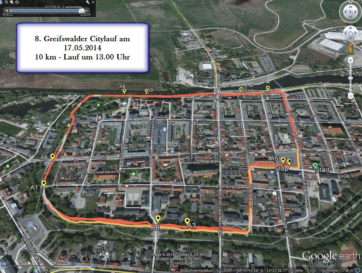 8. Greifswalder Citylauf