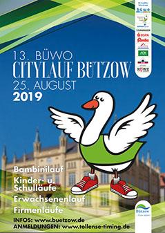 13. BüWo Citylauf Bützow am 25.08.2019