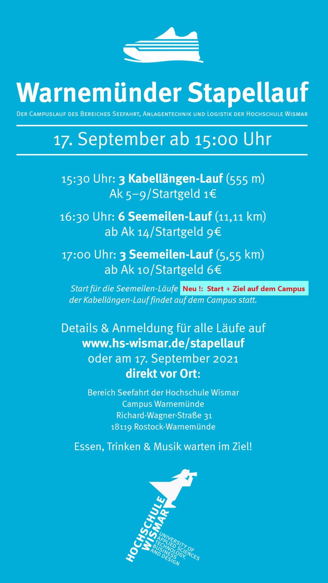 Warnemünder Stapellauf am 17.09.2021 @ Campus Warnemünde